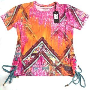 MATTHEW WILLIAMSON  Lace Up T Shirt
